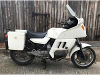 1989 BMW K100 (EX. POLICE MOTORCYCLE)