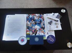 Josh Windass Signed 12x8 Pic And Rangers F.C. Presentation Pack