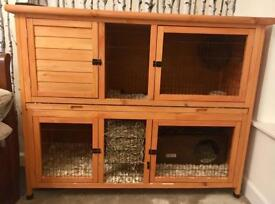 Rose Cottage Rabbit/Guinea Pig Hutch