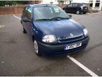 Renault Clio 1.1 Petrol 3 Door Hatchback *LOW MILEAGE* *FULL MOT*
