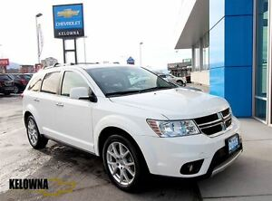2015 Dodge Journey R/T, Heated Leather Seats and Steering Wheel,