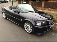 BMW 325i M-Sport Convertible - Very Low Mileage - Full Service History - Immaculate Condition
