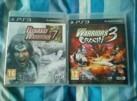 Dynasty Warriors 7 + Warriors Orochi 3 (PS3)