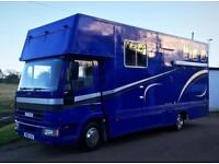 Excellent Condition 1998 7.5t Ford Iveco 75E15 Horsebox For Sale
