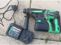 Hitachi 24V SDS PLUS HAMMER DRILL - SPARES OR REPAIRS – READ ADVERT – RRP £320