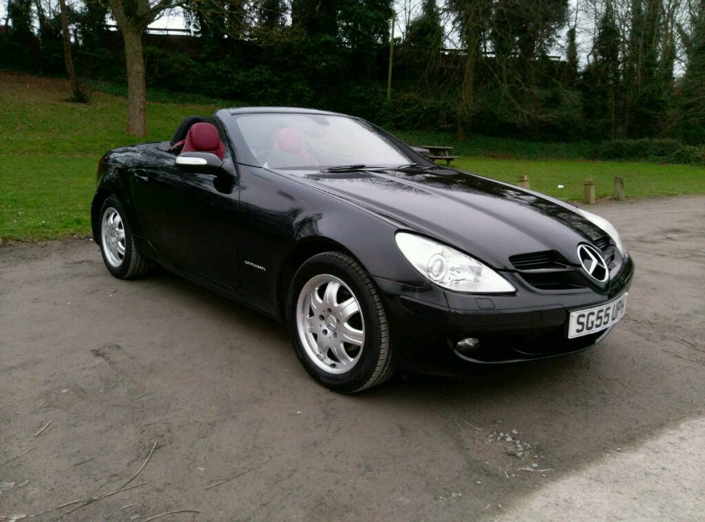 mercedes benz slk 200 kompressor 2005 fsh in sandwell west midlands gumtree. Black Bedroom Furniture Sets. Home Design Ideas