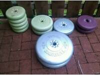 York lifting weights for dumbells or barbells