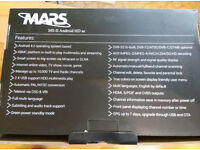 MARS ANDROID HD SE SATELLITE RECEIVER AND IPTV WITH KEYBOARD