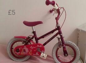 Small girls bike £5