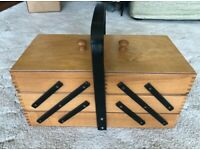 Cantilever Wooden Box