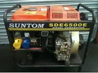 Diesel generator 6kva spares or repairs