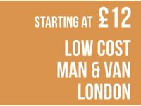 CHEAPEST DAGENHAM Man & Van. Starting £12! Save 80%! UK Govt. approved.