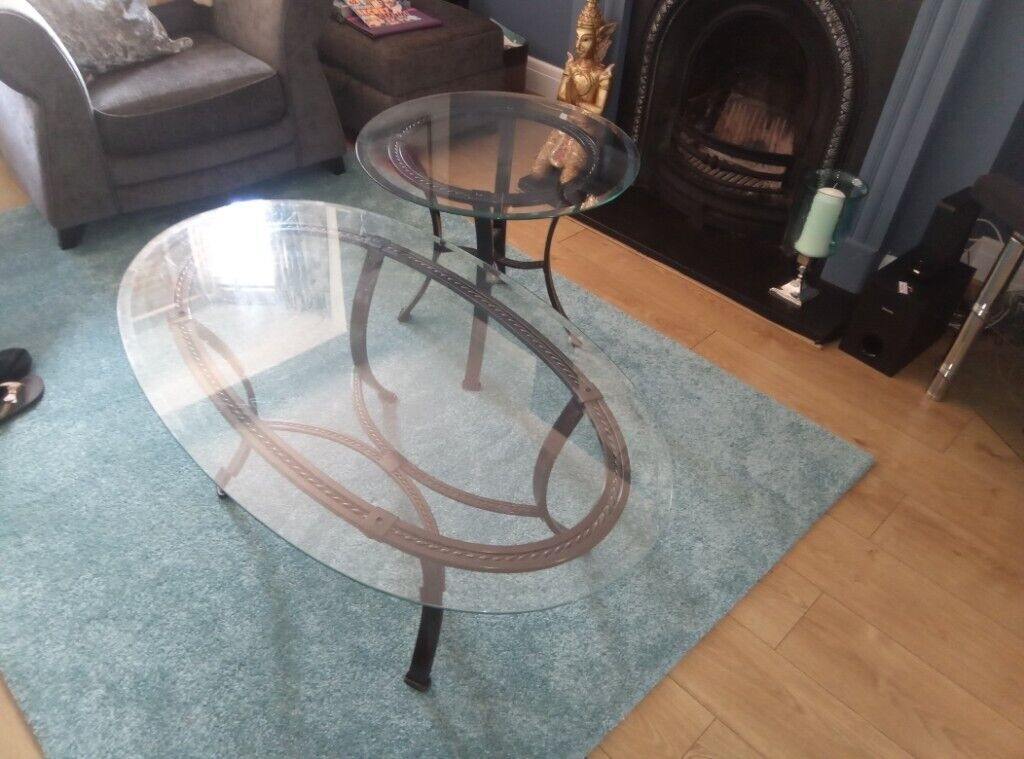 Coffee Table With Matching Side Table Furniture Village 60 For Both Tell07799475849 Hove In Hove East Sussex Gumtree