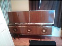 Sideboard with wall units