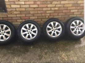 4 Vauxhall alloys