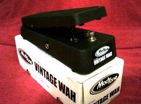 Modtone Vintage wah wah guitar peddle