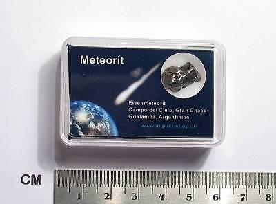 Meteorit Campo del Cielo in Präsentationsbox / Meteorite / Météorite/ Meteoriti