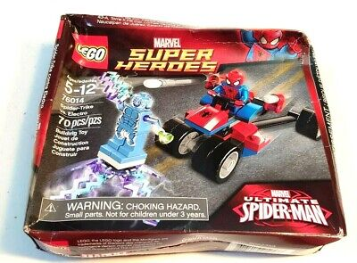 Lego 76014 Marvel Super Heroes Spide-Trike vs. Electro (New In Damaged Box)