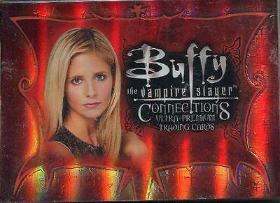 Inkworks Buffy TVS Connections Complete 72 Card Base Set