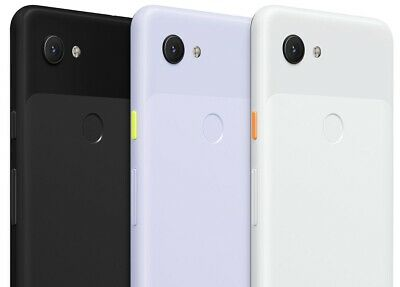 Fully Unlocked Google Pixel 3a / 3a XL 64GB Black White Purple (CDMA+GSM)