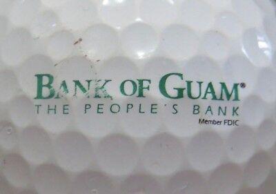 1  Bank Of Guam Logo Golf Ball