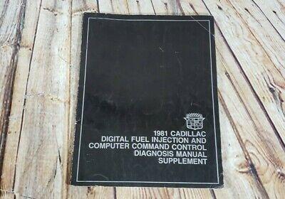 1981 Cadillac Digital Fuel Injection & Computer Command Control Manual Supplemen (Digital Fuel Injection)