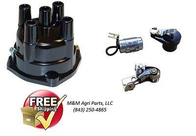 Distributor Cap Ignition Kit John Deere 1010 2010 3010 3020 Tractor - Delco