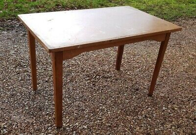 Vintage Table ~ Ex Atomic Energy Authority Table ~ Strong Well Made(3 available)