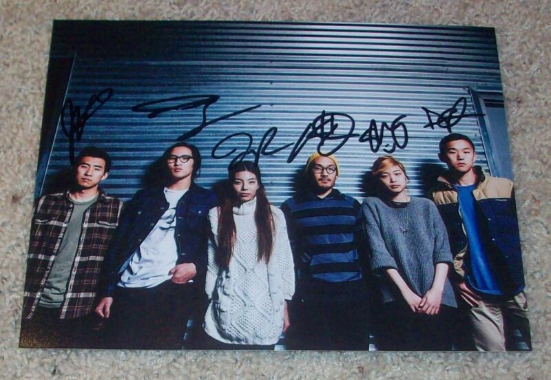 RUN RIVER NORTH SIGNED AUTOGRAPH 8x10 PHOTO C w/PROOF ALEX HWANG +5