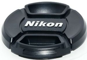 NIKON  LC-52   front camera  lens cap  ,  for  52mm filter thread   18-55mm
