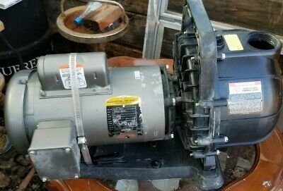 Pacer Water Pump 2 Hp Electric Motor Drive 6600 Gph Se2elc2.oc 115230 Volt
