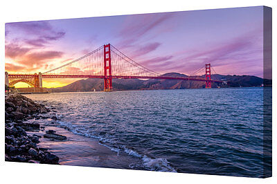 Stunning Golden Gate Bridge Canvas Picture