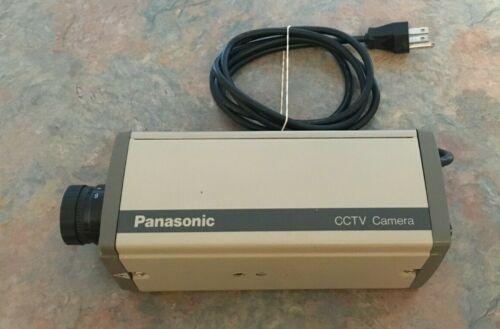 Panasonic WV-1410 CCTV Camera, rare find in this condition.