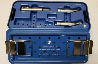 Zimmer 5020-026 Hall Low Speed Drill 5020-0345020-035 Microchoice Set