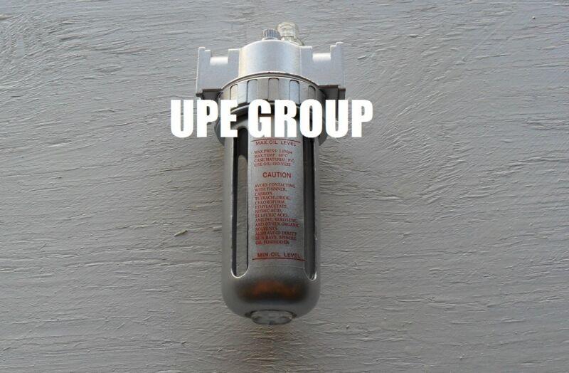 "1/2"" Mid Flow LUBRICATOR Air In Line OILER compressed air compressor air tools"