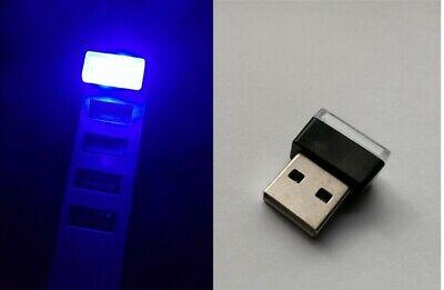 💡Mini LED USB Stick LICHT Leuchte LAMPE 0,3 Watt Auto Nachtlicht BLAU💡 Blau Usb Mini