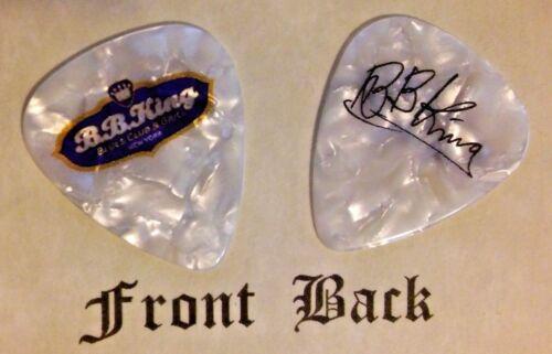 B.B. KING (BB KING) band signature logo guitar pick -(Q-B9)