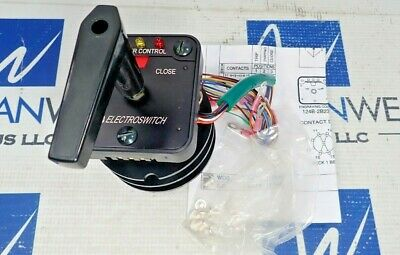 Electroswitch 24pb38d Circuit Breaker Control Switch Series 24 New