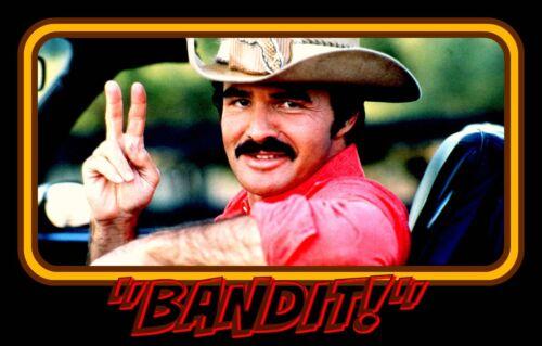 """4.75"""" Smokey & the BANDIT vinyl sticker. Firebird Trans Am decal for laptop."""