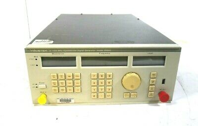 Wavetek 2500c 2-1100 Mhz Synthesized Signal Generator- Free Shipping .