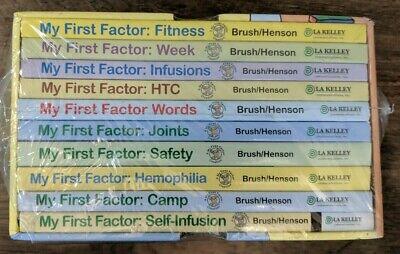 LA Kelly Brush/Henson MY FIRST FACTOR Box Set Children's Books for Hemophiliacs (Kelly Henson)