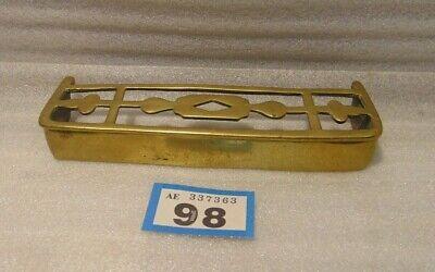 Antique Traveling Salesman Sample Brass Fender 98