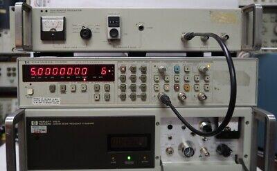Hp 105a Quartz Oscillator