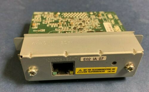 EPSON M155B UB-E02 IA 07 Ethernet Interface Card for Receipt TM Printers