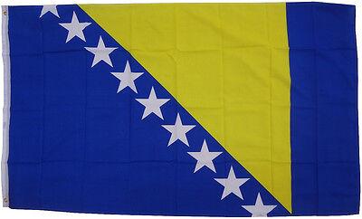 Flagge Bosnien-Herzogowina 90 x 150 cm Fahne Hissflagge Sturmflagge Hissfahne WM