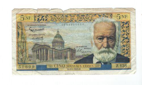 France - 1965, 5 Francs