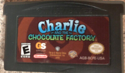 GAMEBOY ADVANCE CHARLIE AND THE CHOCOLATE FACTORY Good Condition, No Box
