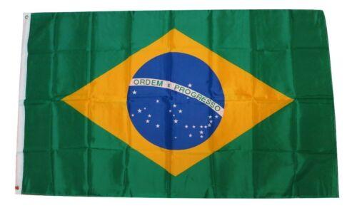 3 x 5 Feet Brazil Brazilian Brasil Brasileiro National Country Flag Feet