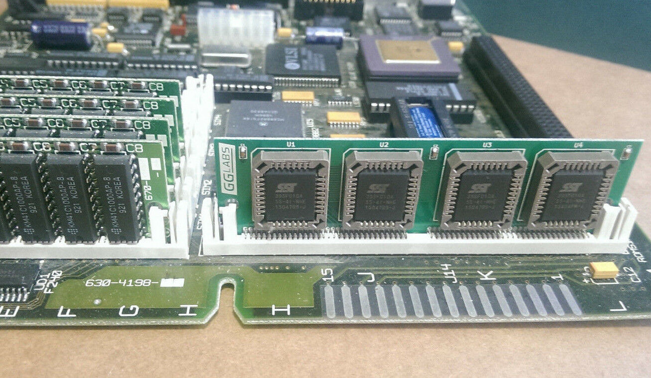 GGLABS 512KB MACSIMM - MAC SE/30 IIsi IIfx flash ROM SIMM 64pin Apple 820-0296-B