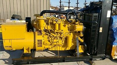 Caterpillar C9 Diesel 250kw Used Tested Generator Setteir 2 Marine
